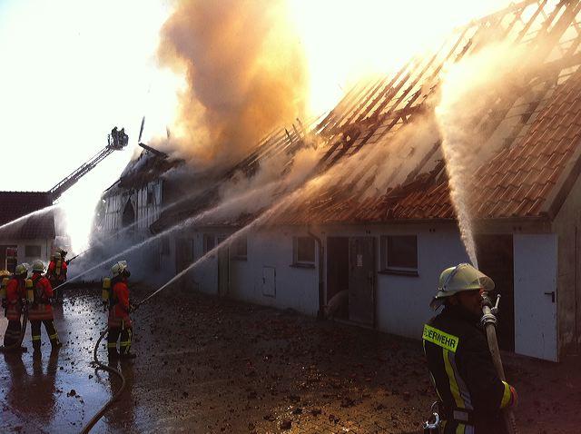 Einsatz 22.09.2010 - FEU Scheunenbrand