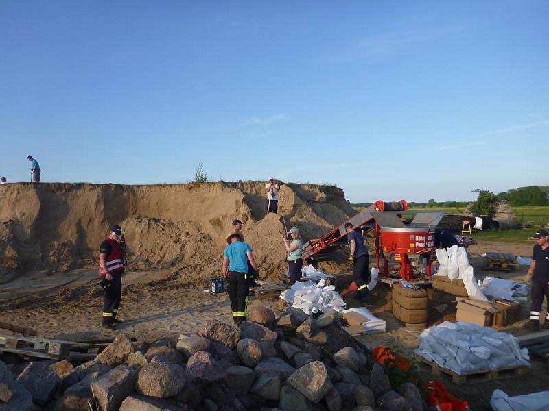 Einsatz 09.06.2013 - TH Hochwasser (KFB)