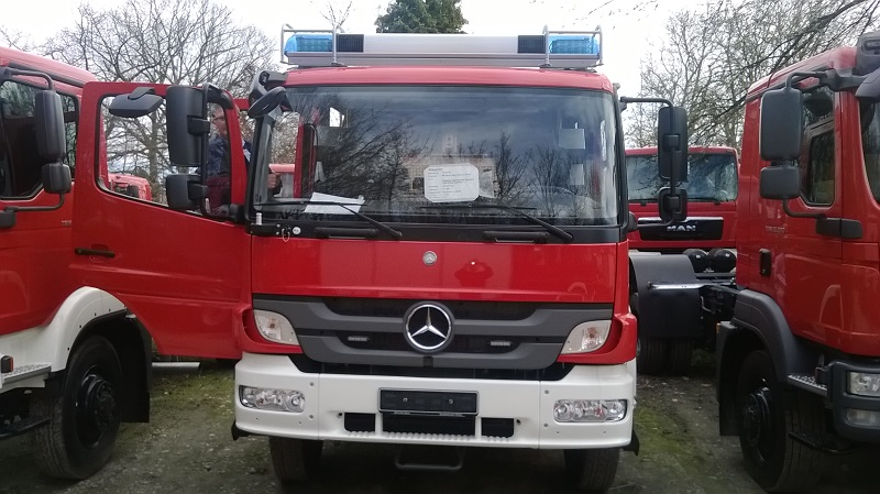 Fahrgestell HLF20
