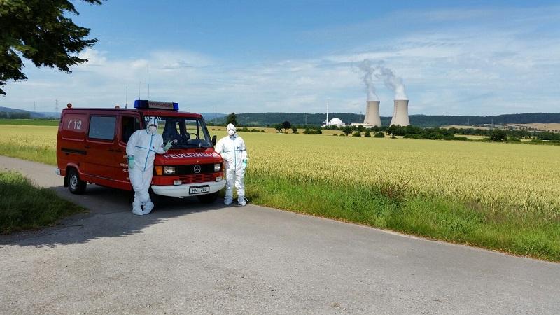 Übung 11.07.2015 - Messtrupp Austritt Radioaktivität KKW